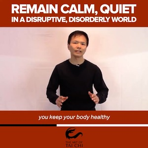 How to Remain Calm and Quiet in a Disruptive, Disorderly World