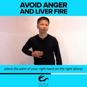 Avoid Anger and Liver Fire